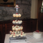 fresh fruit cupcake tower