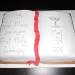 holy communion boy cake