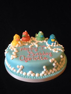Rubber Ducky Birthday Cake Jens Cakes